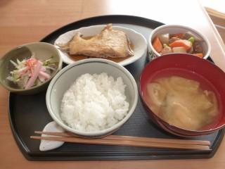 手稲区山口のデイサービスお食事