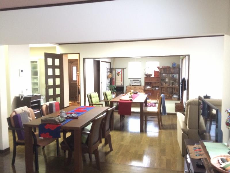自宅と同じような雰囲気の室内